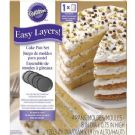 "Easy Layers! 8"" Round Cake Pan Set"